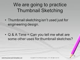 what is sketching engineering design and presentation ppt video