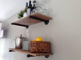 Diy Bakers Rack Open Kitchen Cabinets Diy Kitchen Decoration
