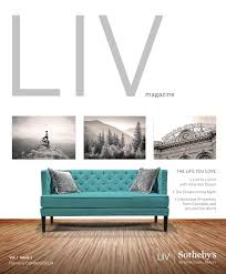 kuni lexus littleton inventory liv magazine vol 1 issue 1 2015 by liv sotheby u0027s international