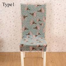 aliexpress com buy removable floral stretch short chair cover