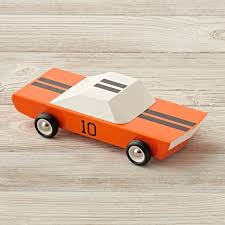 inspired by the classic racecars this wooden toy car is a