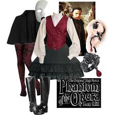 Christine Daae Halloween Costume Halloween Costumes Phantom Opera Polyvore