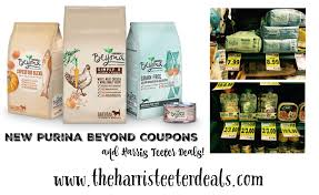 5 new purina beyond pet food coupons harris teeter deals the