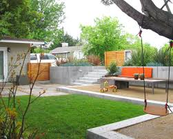 Backyard For Kids Kids Room Contemporary Backyard Landscaping Ideas Pretty Much