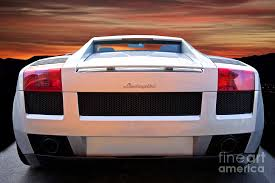lamborghini gallardo rear 2004 lamborghini gallardo rear view photograph by dave koontz