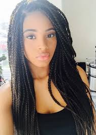 hairstyle with 2 shoulder braids 35 awesome box braids hairstyles you simply must try fashionisers