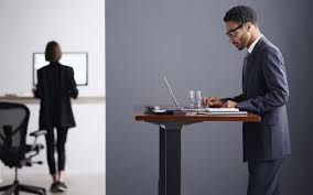 Standing Sitting Desk by Herman Miller U0027s Standing Desk Fitness Tracker Live Os Insidehook