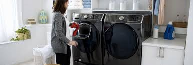 Samsung Blue Washer And Dryer Pedestal Samsung Addwash Laundry Feature Consumer Reports