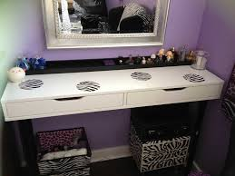 White Bedroom Vanity Table With Tilt Mirror Cushioned Bench Designing The Stylish Corner Vanity Table Home Design By John