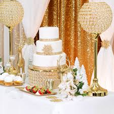 gold wedding cake stand 14 cake stand gold plated cv linens