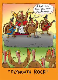 thanksgiving card plymouth rock from cardfool