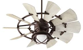 quorum ceiling fans with lights quorum windmill ceiling fan model 194410 86 in oiled bronze