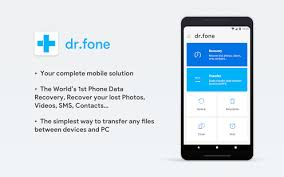 dr fone for android dr fone recovery transfer wirelessly backup android apps