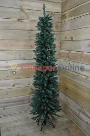 Pencil Christmas Tree Pre Lit Uk by Slim Pre Lit Christmas Trees Uk Christmas Lights Decoration