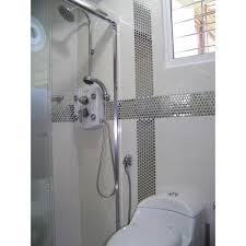 Steel Backsplash Porcelain Base Grey Metal Kitchen Wall Tiles HC - Porcelain backsplash