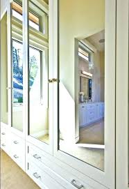 Bifold Closet Doors Lowes Mirror Closet Doors View In Gallery Mirrored Closet Doors With