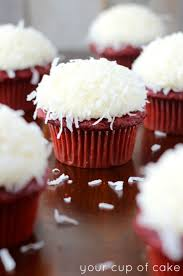 30 decadent red velvet cupcakes