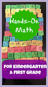 hands on math learning for kindergarten and first grade math