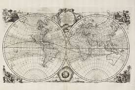 New World Map by A New U0026 Accurate Map Of All The Known World Bowen 1747