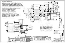10 000 sq ft house plans custom residential home designs by i plan llc floor plans 7 501 sq