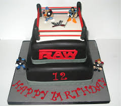 wwe wrestling ring cake u2014 liviroom decors wwe cakes for a cool
