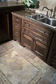 Kitchen Tile Floor Designs Beautiful Tile Floor Think This Is A Kitchen But Would Be Pretty