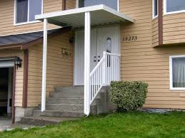 Front Porch Awning Front Door Awesome Front Door Overhang Picture For Home Design