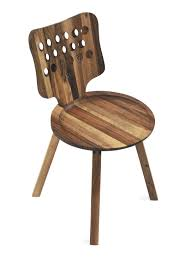 scandinavian design chair metal wooden daisy by salih