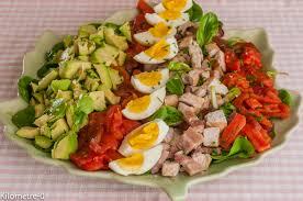 recette de cuisine simple et facile salade de tomates thon et oeufs recipe
