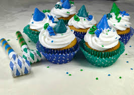 Dinner Ideas For New Years Eve Party New Year U0027s Eve Party Cupcakes Recipe