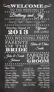 Wedding Program Chalkboard 19 Best Wedding Invitations Images On Pinterest Marriage