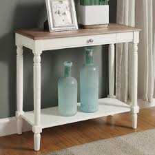 unfinished wood sofa table console sofa and entryway tables you u0027ll love wayfair