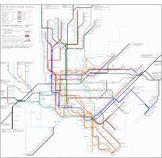 Nj Train Map Rebuilding Place In The Urban Space A Regional Transit Map For