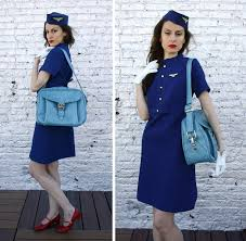 halloween flight attendant costume vintage stewardess the golden dragon pinterest flight attendant