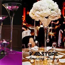 Martini Glass Centerpieces 24