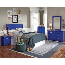 Blue Bed Frame Bright Blue Three Or Five Bedroom Suite Leo Blue Bedroom