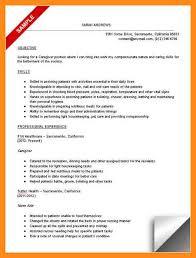 Sample Resume For Caregiver For An Elderly Sample Resume Caregiver Elderly Caregiver Resume Samples Child