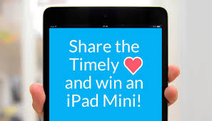 share the timely love and win an ipad mini