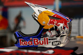 red bull motocross helmets lapierre world champs bikes for loic bruni and loris vergier pit
