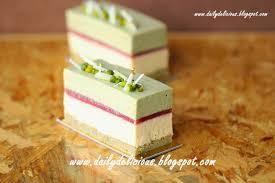 dailydelicious pistachio vanilla entremets