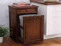 tilt trash can finally the front edge nail and glue in place this kitchen wood kitchen trash can tilt out wood kitchen trash cans for wooden kitchen trash cans
