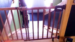 Baby Gate For Top Of Stairs With Banister Review Of
