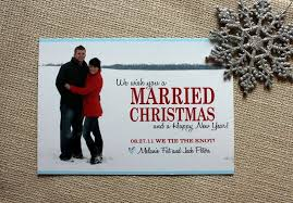 married christmas cards the watermark invitations denver co weddingwire