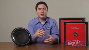 rockford fosgate punch p3s shallow mount car subwoofer youtube