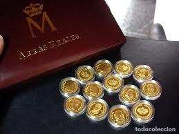 arras de oro arras reales emitidas por la f n m t plata comprar trofeos