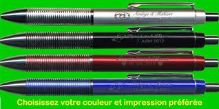 stylo personnalisã mariage stylo gravé vos stylos personnalisés par gravure