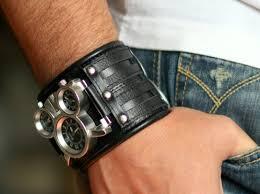 mens wrist bracelet tuareg 5 steunk