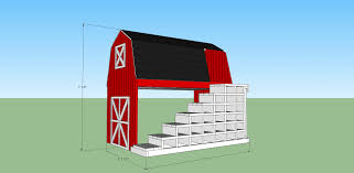 Free Loft Bed Woodworking Plans ana white classic red barn bunk bed diy projects