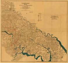 Jamestown Virginia Map Collection Matrix