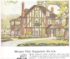 Historic Tudor House Plans From